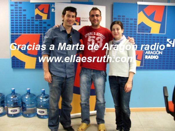 Ruth Núñez y Alejandro Tous en 'Es sábado, es Aragón'