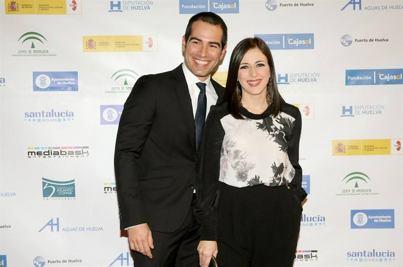 Ruth Núñez y Alejandro Tous en la 40ª edición del Festival de Cine Iberoamericano de Huelva