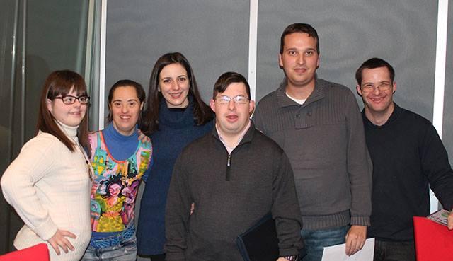 Ruth Núñez en la emisora de 'Gente extraordinaria'