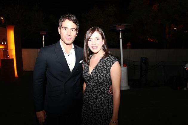 Ruth Núñez y Alejandro Tous en la presentación de Fox Life