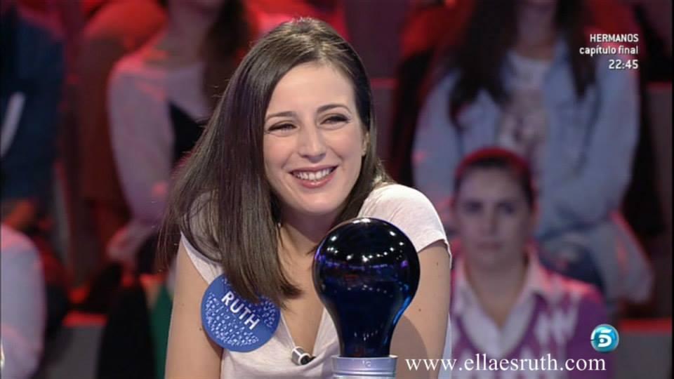 Ruth Núñez en 'Pasapalabra'