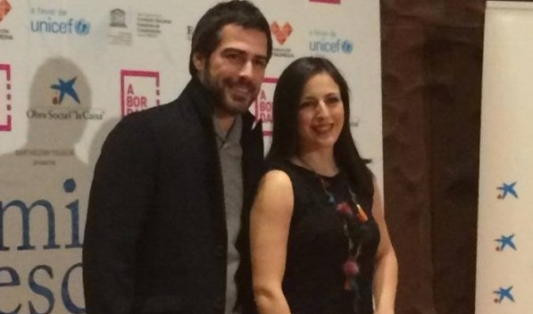 Ruth Núñez en el estreno del documental 'Camino a la Escuela'