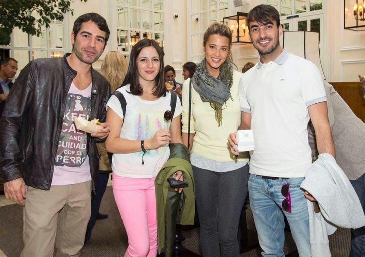 Ruth Núñez con Alejandro Tous, Corina Randazzo e Israel Rodríguez