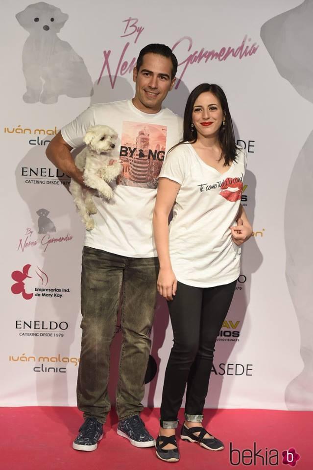Ruth Núñez y Alejandro Tous en el aniversario de  By Nerea