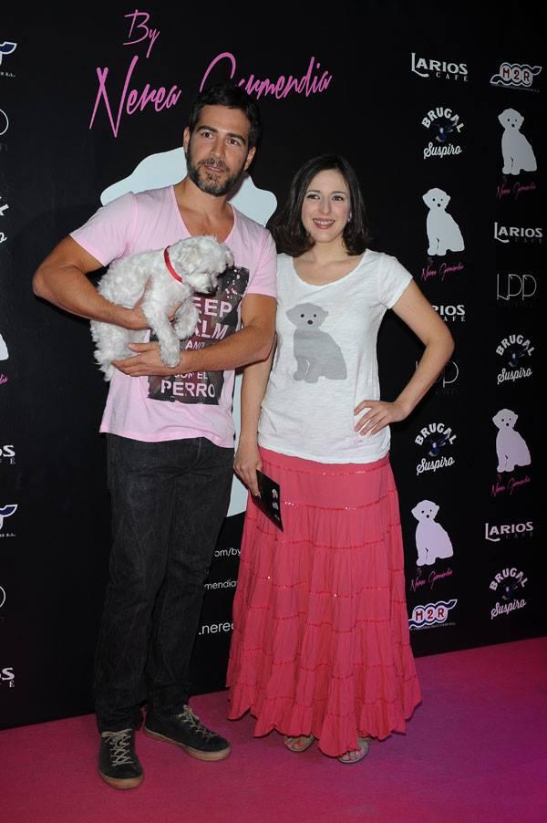 Ruth Núñez y Alejandro Tous en la presentación de By Nerea
