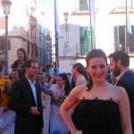 Ruth Núñez en la Inauguración del Festival de Cine de Málaga