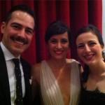Ruth Núñez, Alejandro Tous y Ana Turpin en la Inauguración del Festival de Cine de Málaga