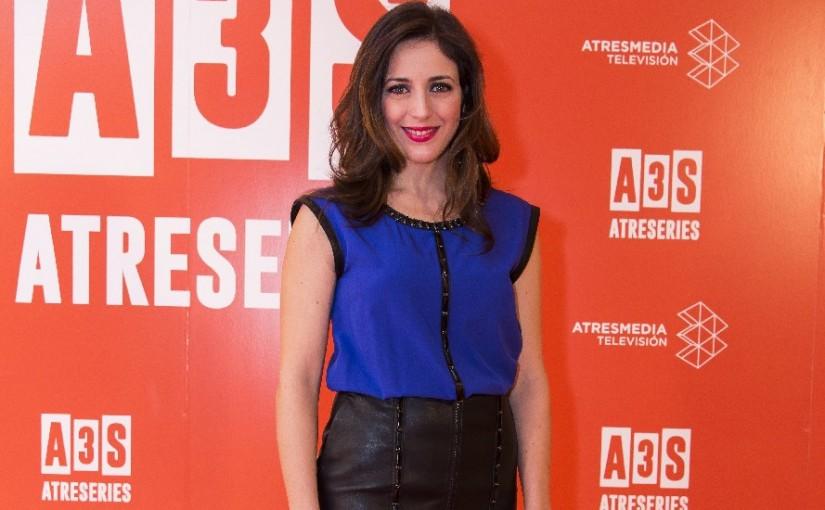Ruth Núñez en la presentación del canal Atreseries