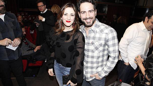 Ruth Núñez y Alejandro Tous en la premiere de 'Embarazados'