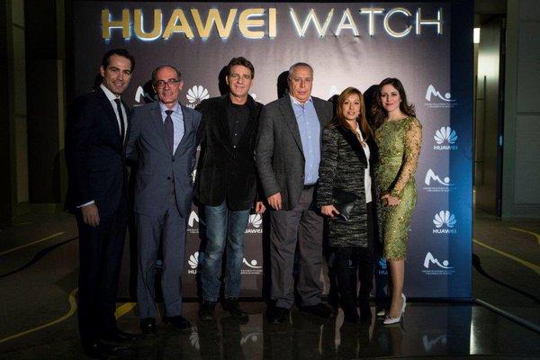 Ruth Núñez en la presentación del smartwatch de Huawei