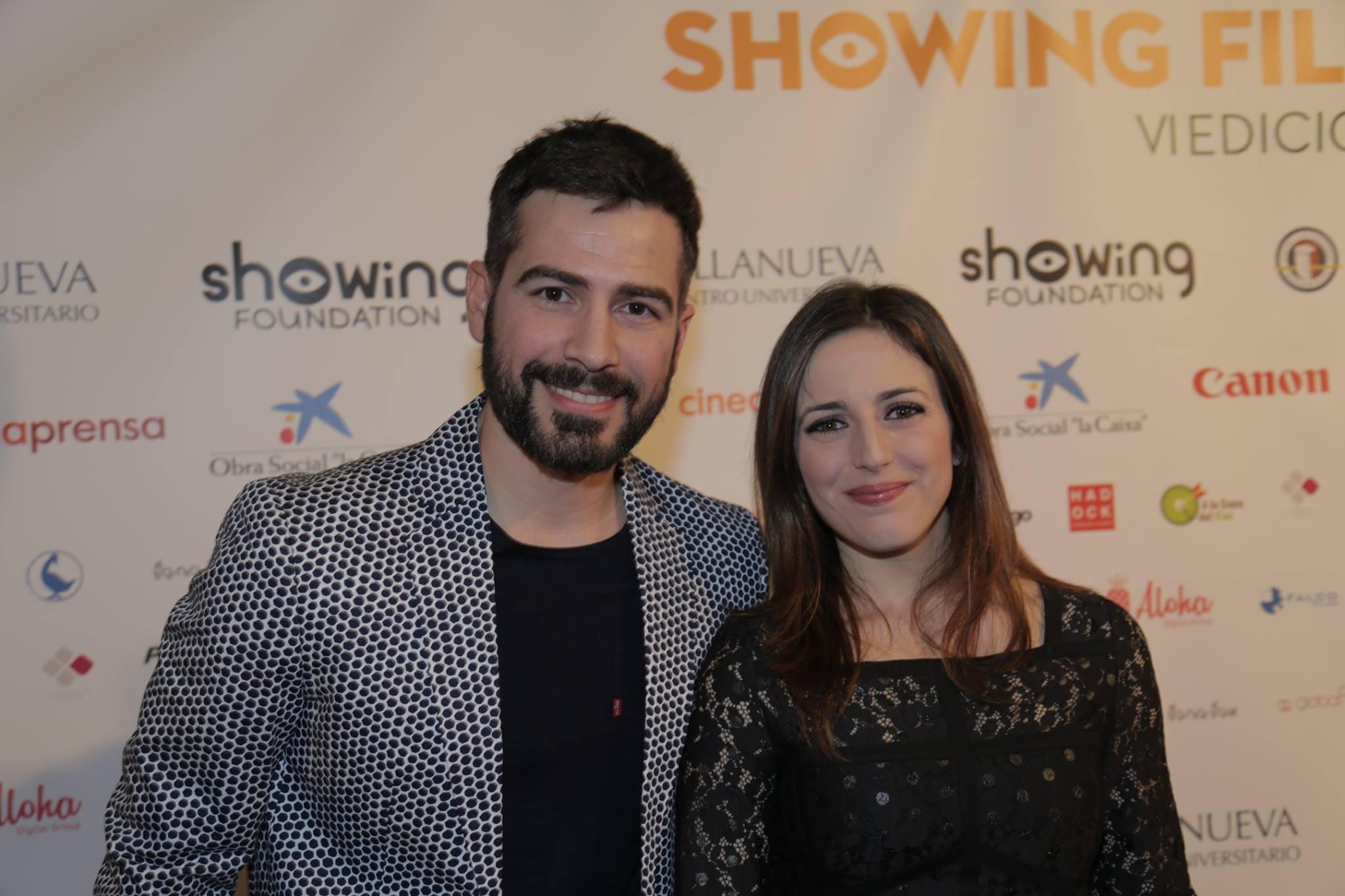 Ruth Núñez en los Showing Film Awards