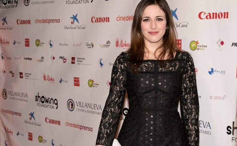 Ruth Núñez en la gala Showing Film Awards 2016