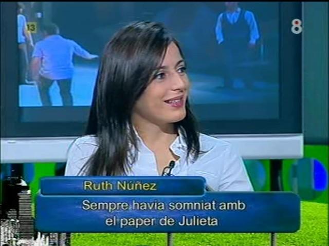 Ruth Núñez y Alejandro Tous en el programa 'Arucitys'