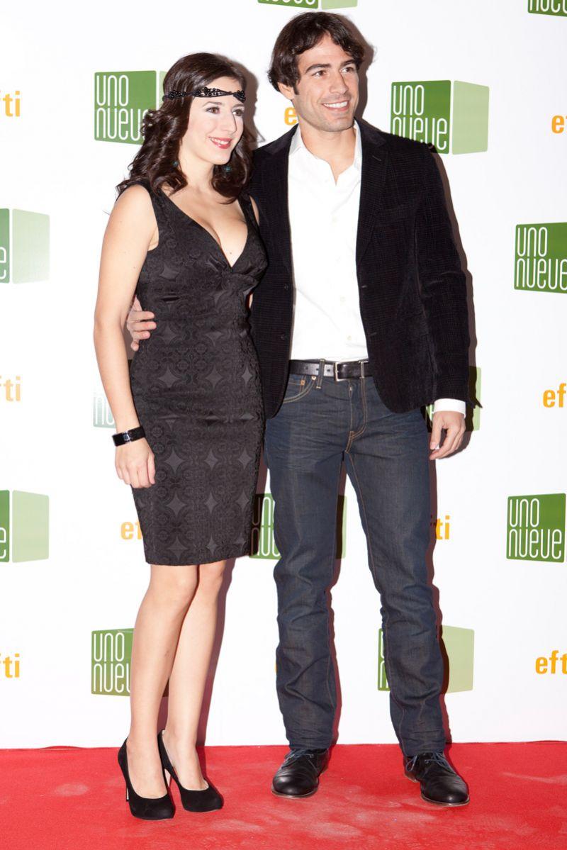 Ruth Núñez y Alejandro Tous en la inauguración de la exposición