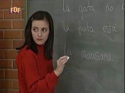 """Ruth Núñez era Tanja en """"Compañeros""""."""