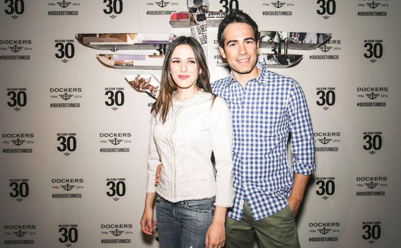 Ruth Núñez asiste al 30 Aniversario de la firma Dockers
