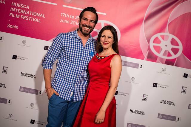 Ruth Núñez y Alejandro Tous en la Gala del Premio Luis Buñuiel