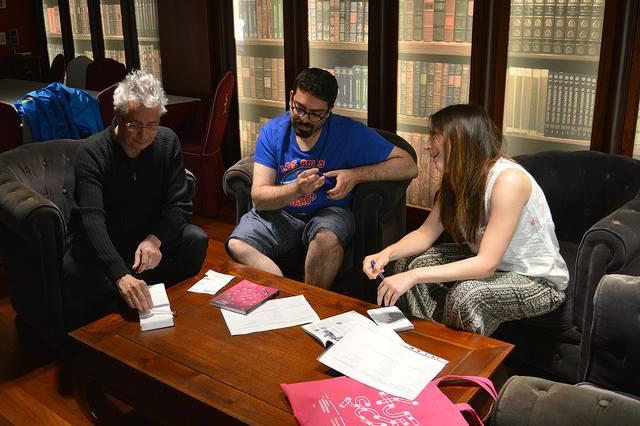 Deliberación del jurado del Festival Internacional de Cine de Huesca