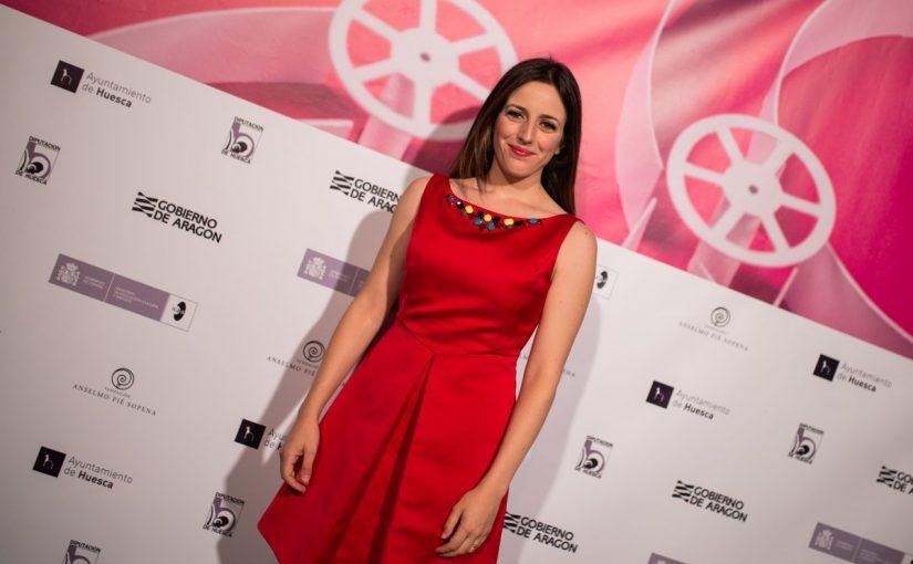 Ruth Núñez en la 44 edición del Festival Internacional de Cine de Huesca