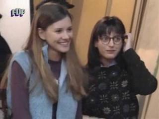 "Ruth Núñez en la serie ""Periodistas""."