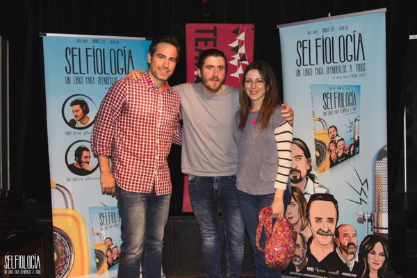 Presentación del libro 'Selfiología' y próxima entrevista de radio